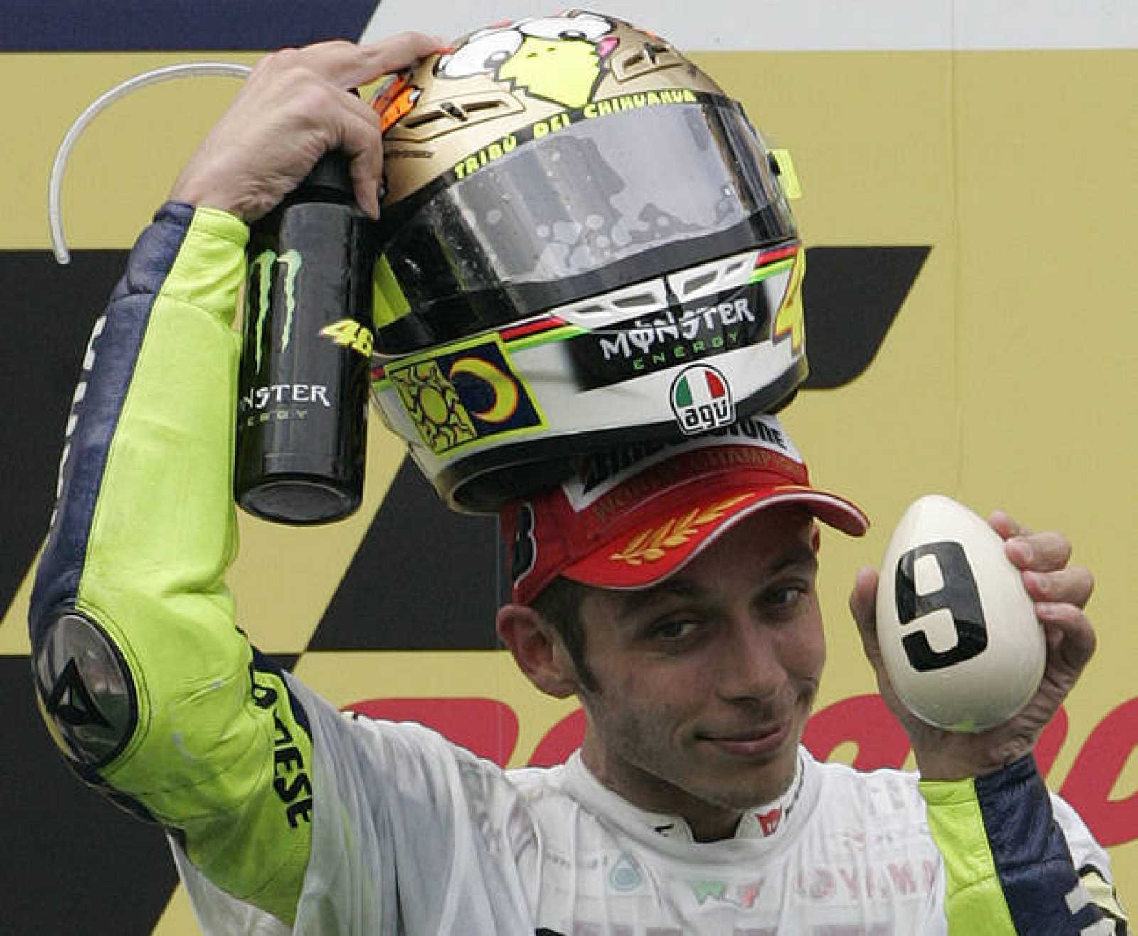 Valentino Rossi ha conseguido su noveno Mundial en 2009.