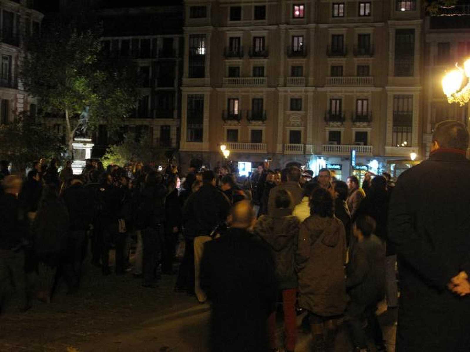La concentración de Madrid frente al Ministerio de Cultura se ha celebrado de forma pacífica.