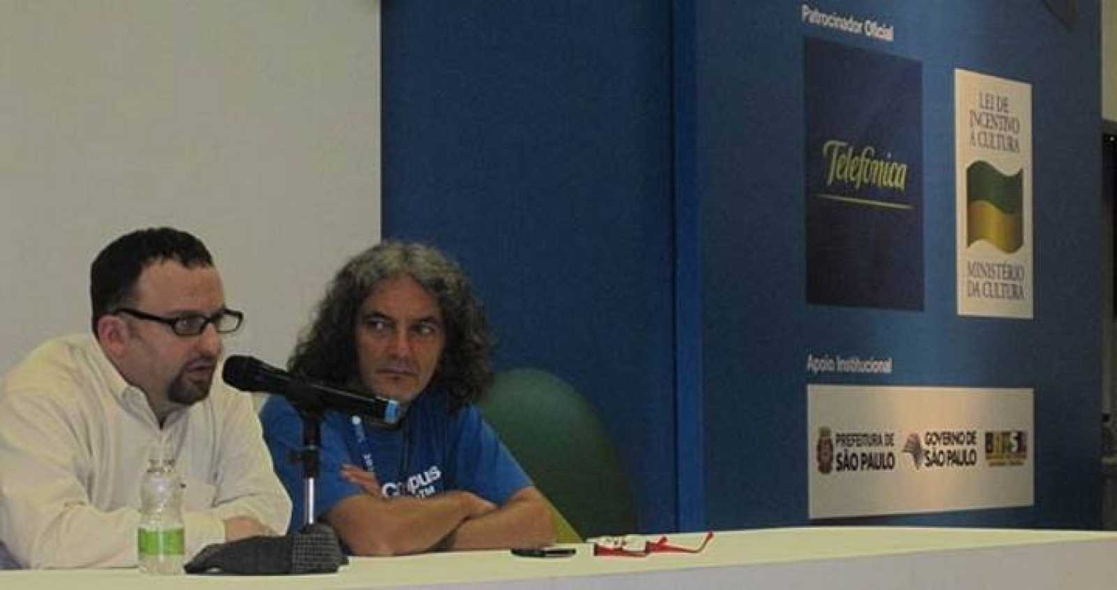 El 'gurú' web de Obama, en la Campus Party Brasil.