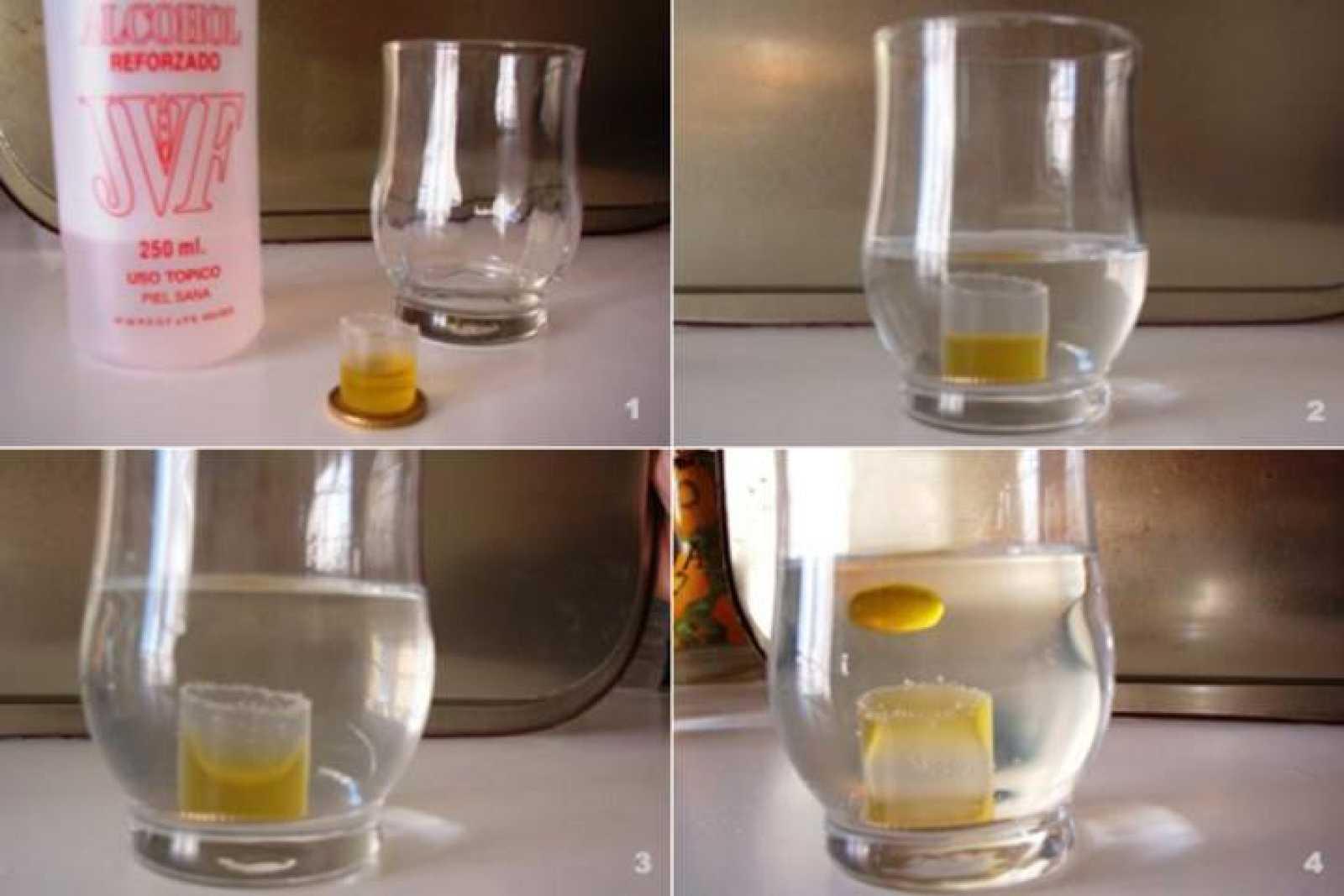 que pasa si se mezcla drinkable y aceite