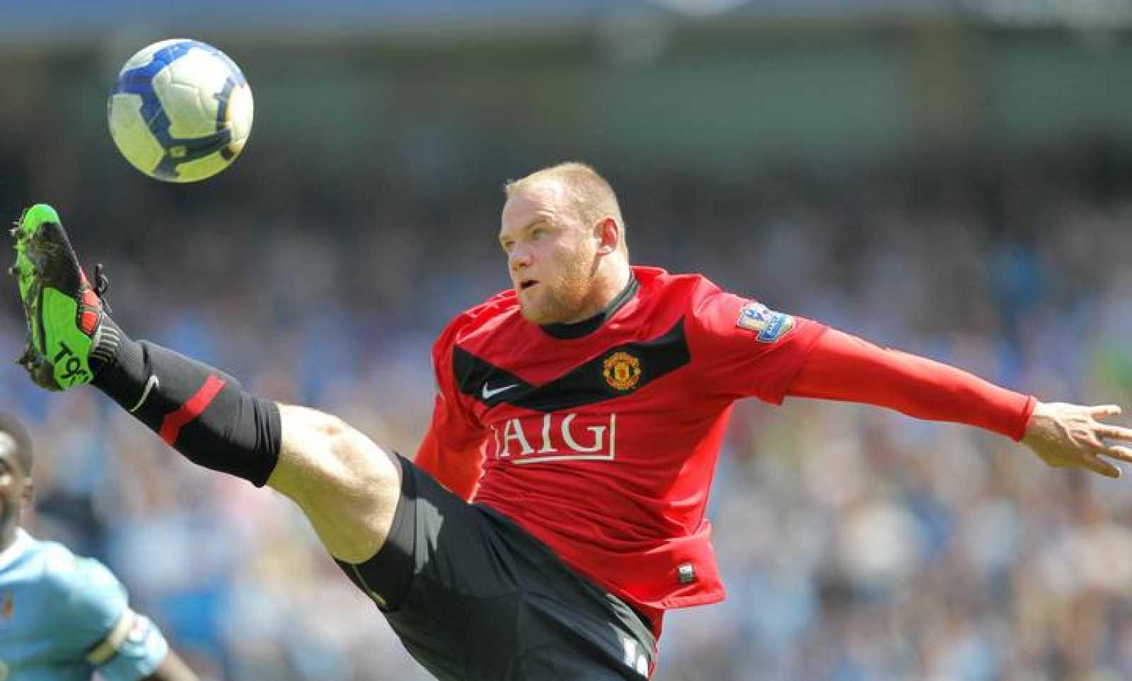 El jugador del Manchester United Wayne Rooney