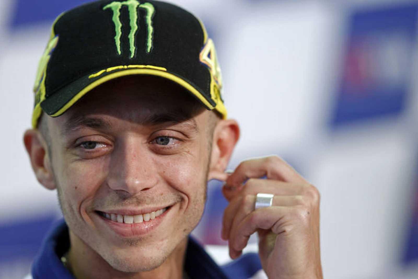 Valentino Rossi está muy satisfecho con su primer asalto a Mugello.