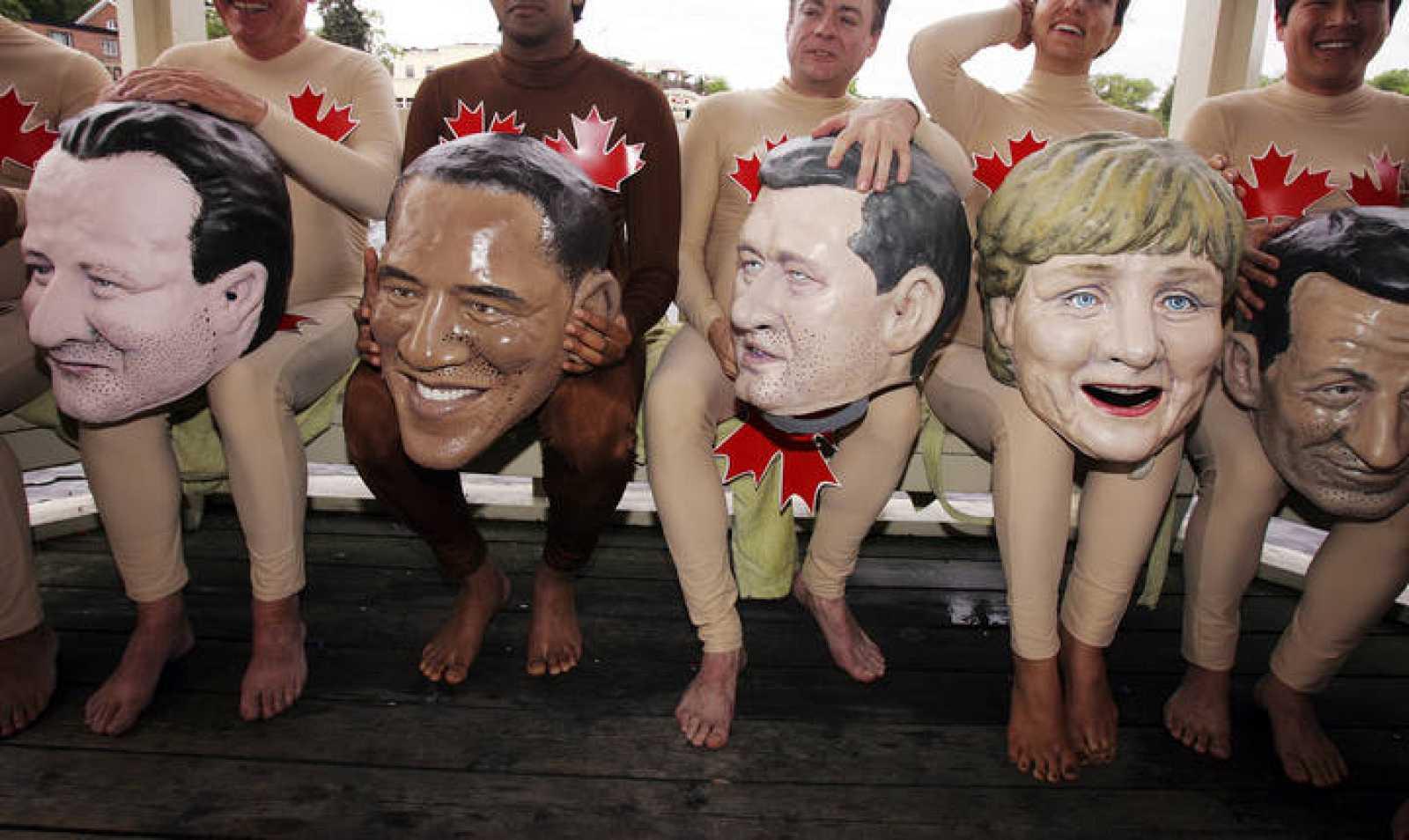 Cumbre del G-8 en Canadá
