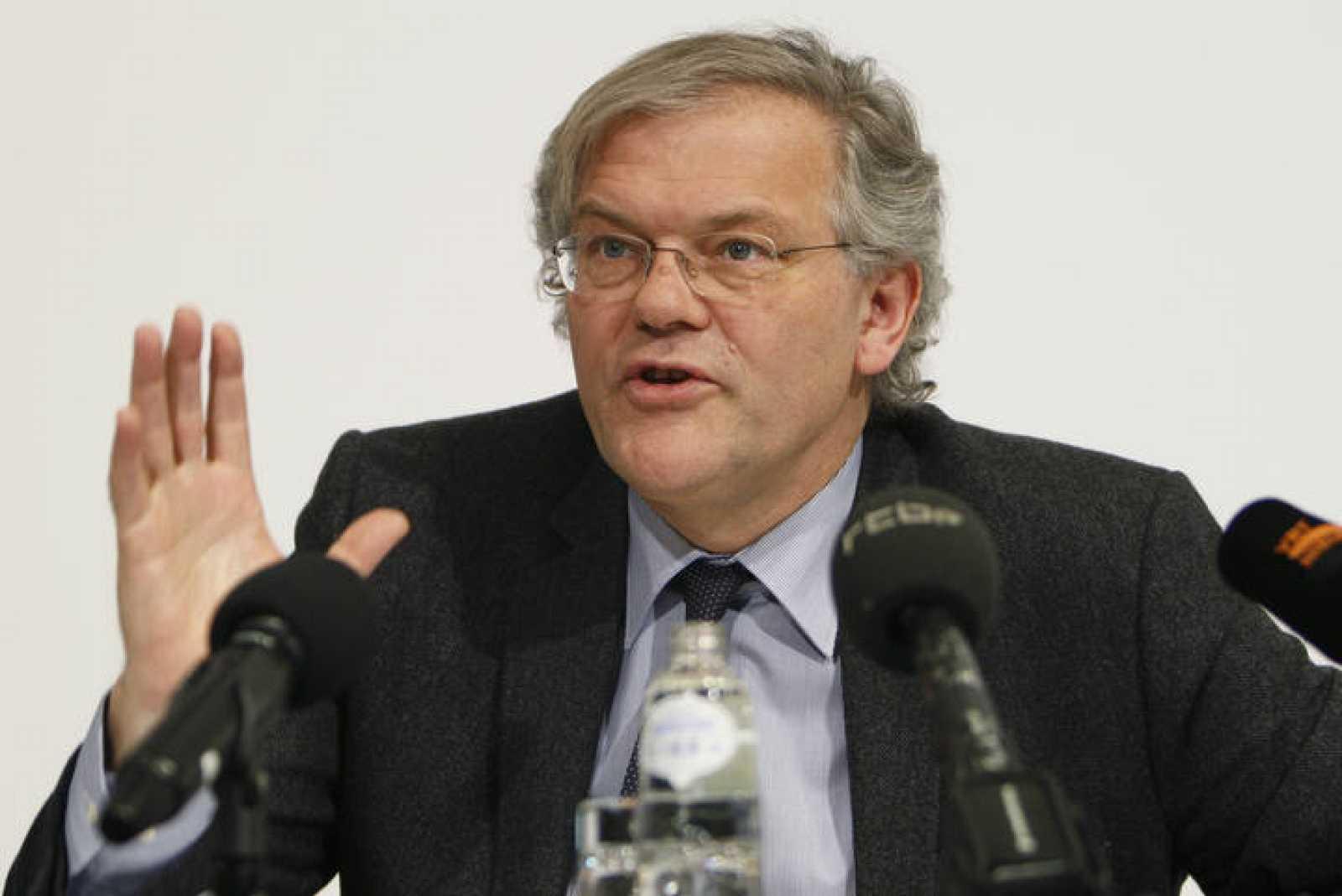 El ministro de justicia, Stefaan De Clerck