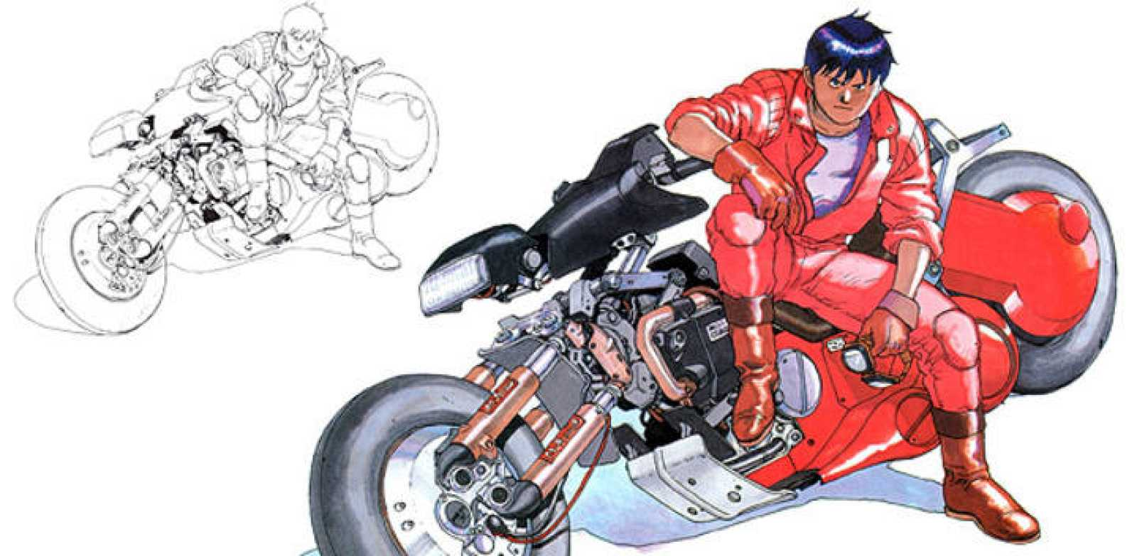 Kaneda, el protagonista de 'Akira' de Katsuhiro Otomo