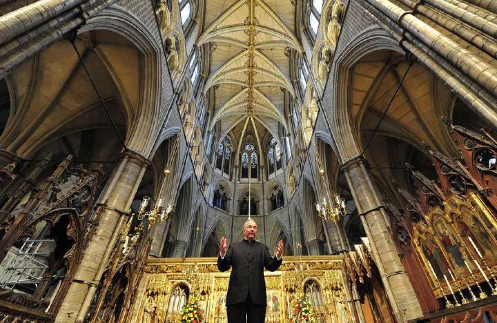 La abadía de Westminster será el lugar de celebración de la boda entre el príncipe Guillermo y Kate Middleton.
