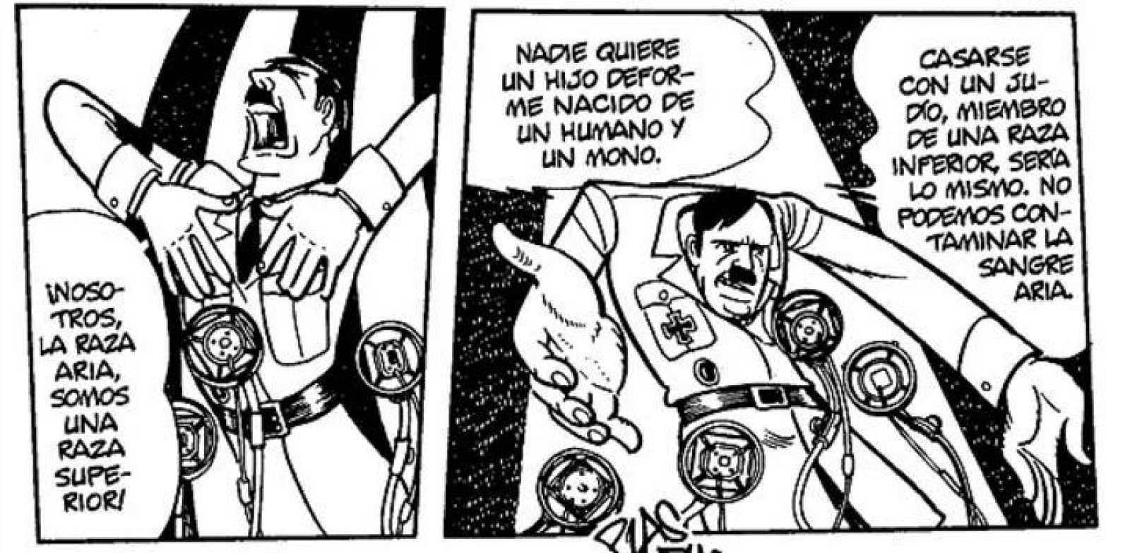 Viñetas de 'Adolf', de Osamu Tezuka