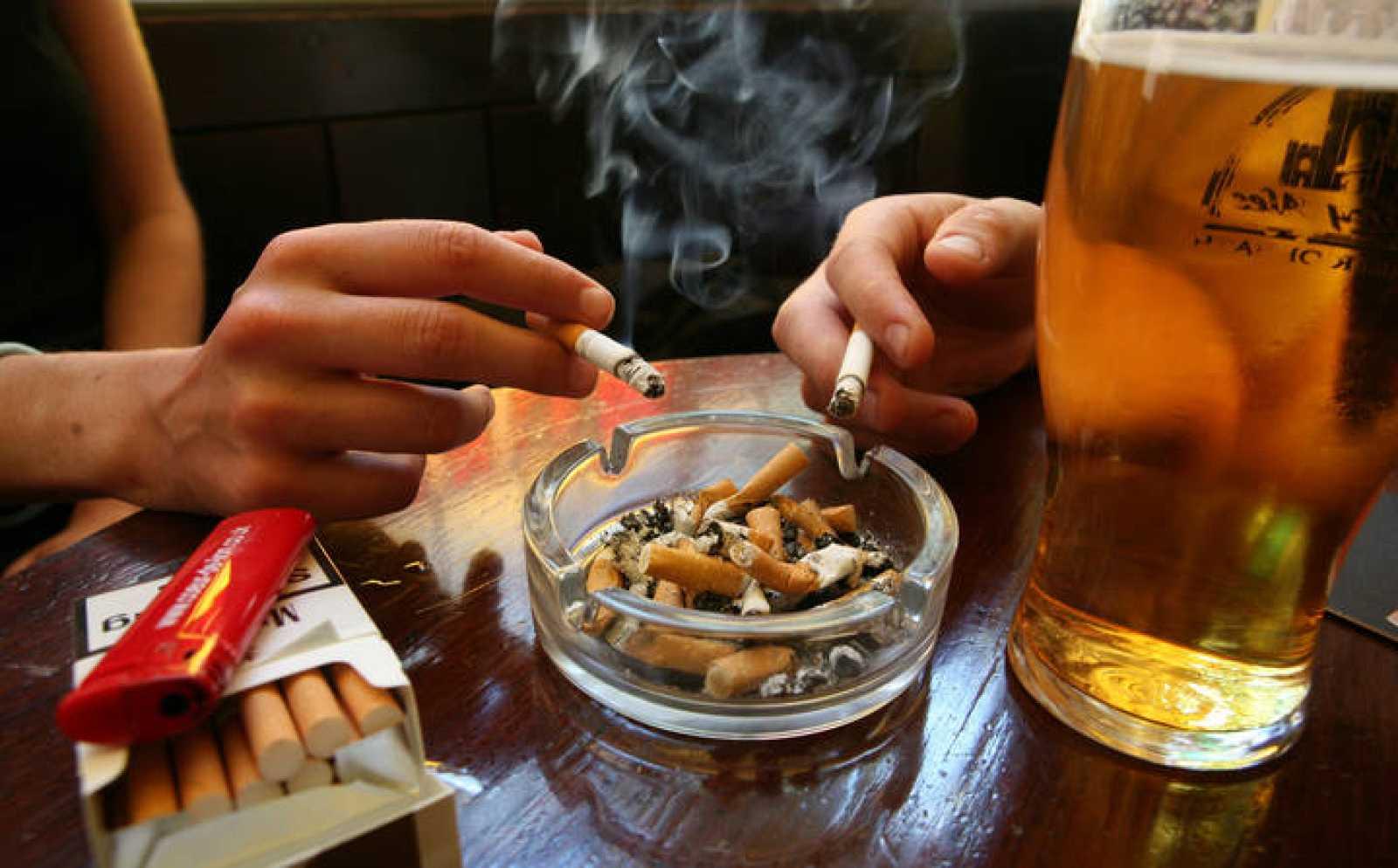 Desde el pasado 2 de enero no se puede ver esta imagen en los bares y restaurantes españoles.