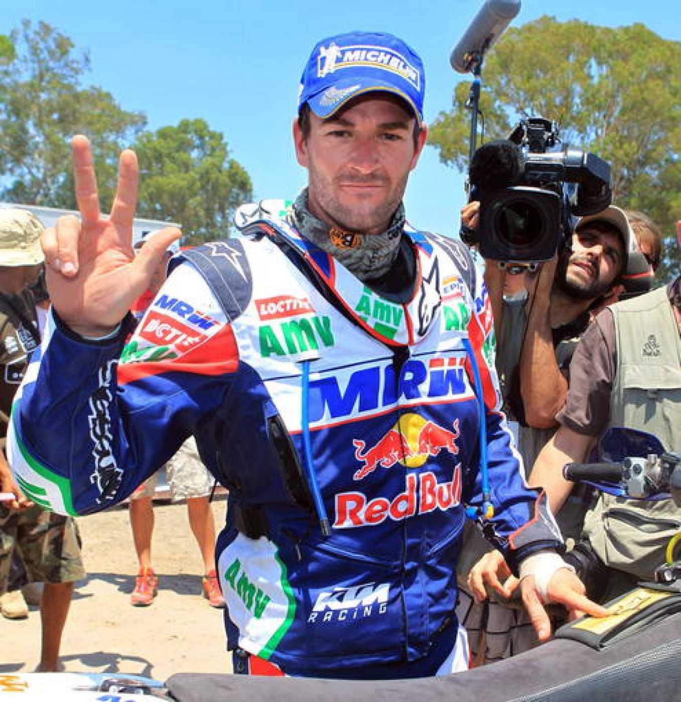 Marc Coma repasará su tercer triunfo en el Rally Dakar.