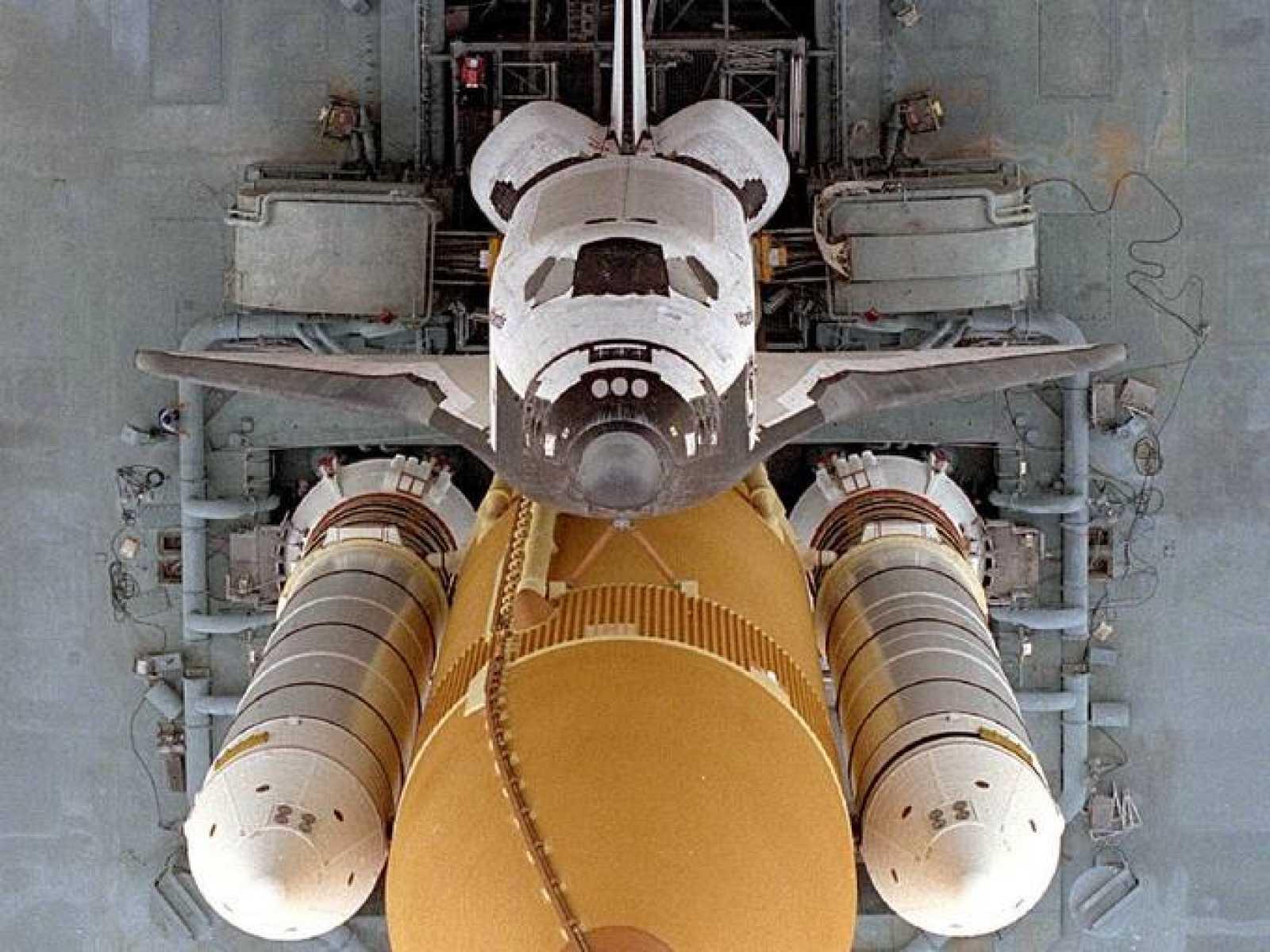 El Atlantis, en una imagen de archivo, el último transbordador en viajar al espacio.