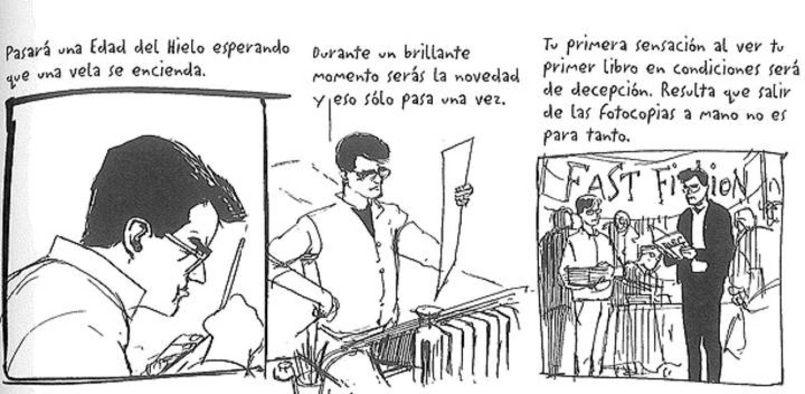 Viñetas de 'Alec', de Eddie Campbell