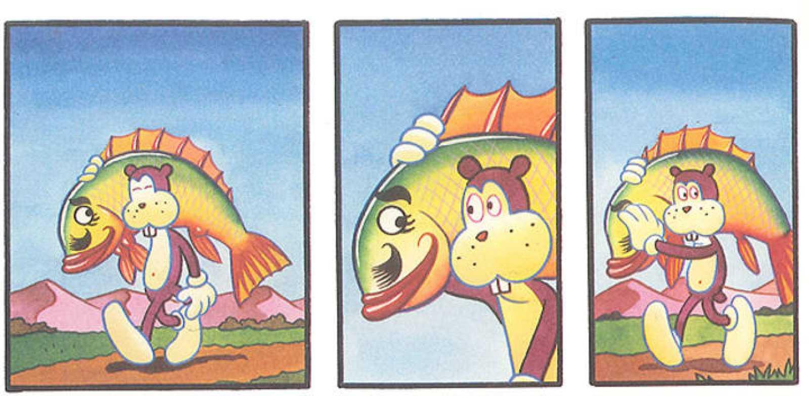 Viñetas de 'Frank', de Jim Woodring