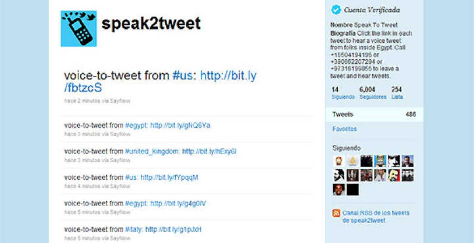 Un contestador automático graba mensajes de teléfono y lo convierte en mensajes de texto que se envían a twitter