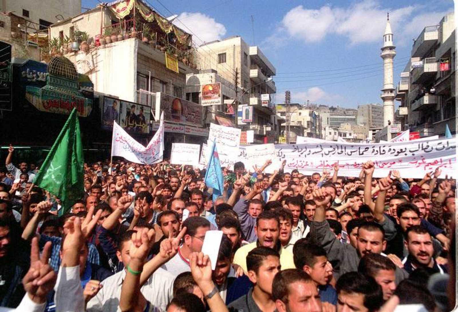 Pro-Palestinian Demonstration by Jordanians