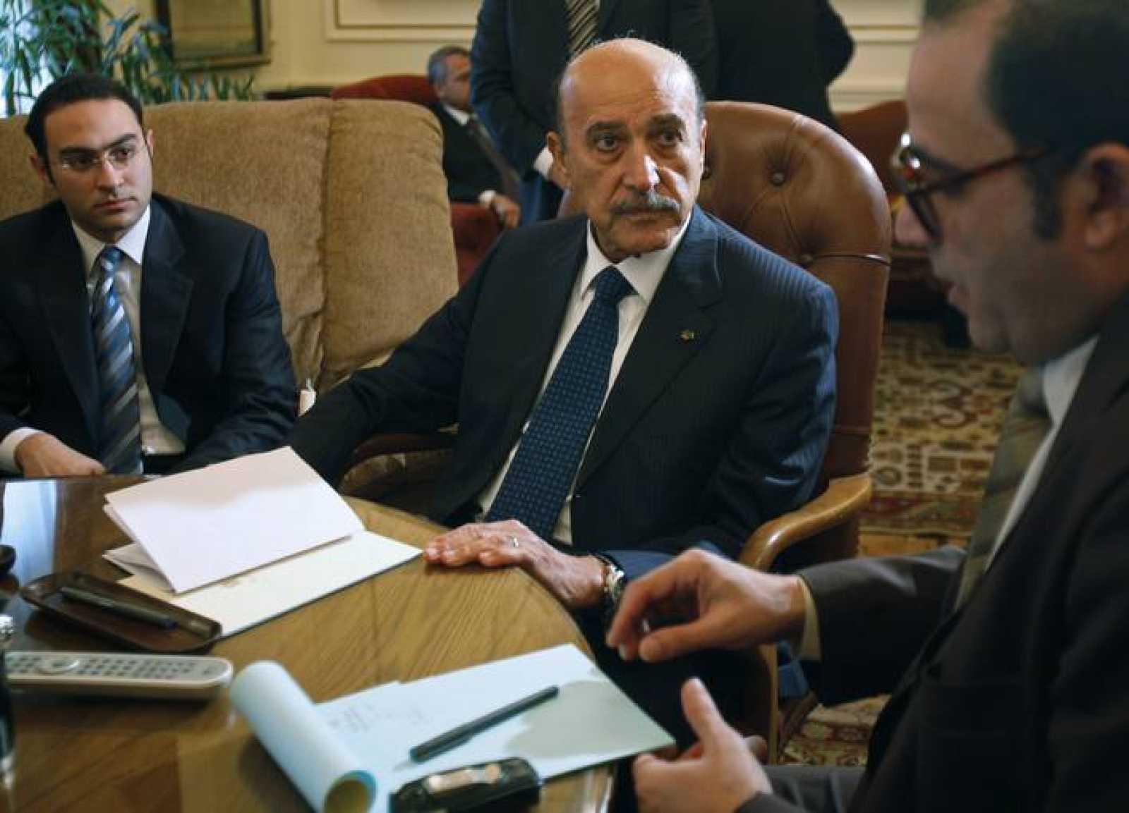 Omar Suleimán, vicepresidente de Egipto