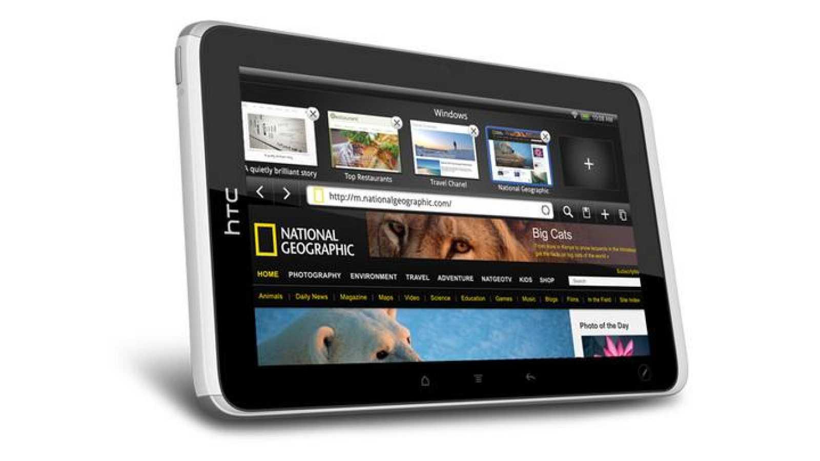 Flyer, la nueva tableta de HTC que se ha presentado en el 'Mobile World Congress' de Barcelona