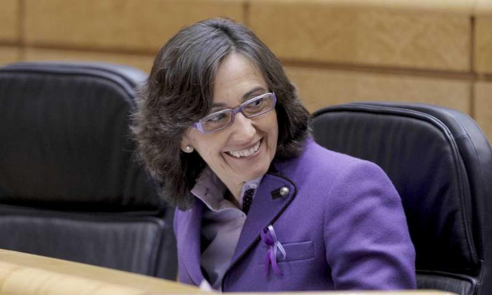 La ministra de Medio Ambiente y Medio Rural y Marino, Rosa Aguilar, el pasado 8 de marzo de 2011