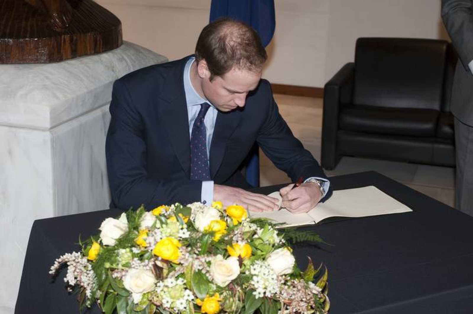 El príncipe William es el segundo heredero al trono en la línea sucesoria.