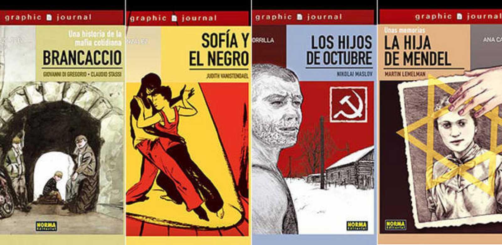 Portadas de la colección 'Graphic Journal'