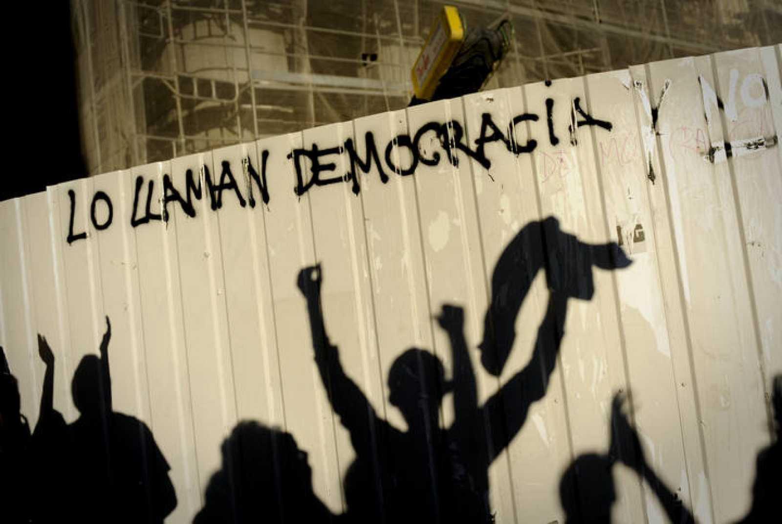 Manifestación de Democracia real ya en Madrid