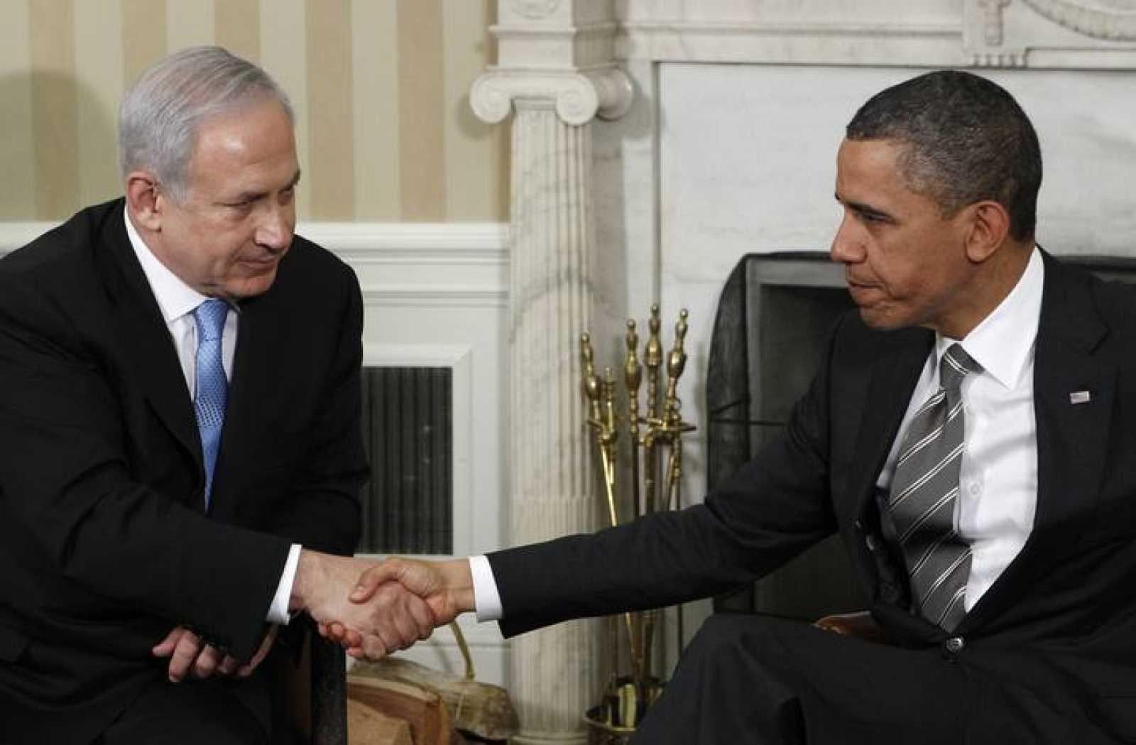 Obama y Netanyahu evidencian sus caras de resignación tras la reunión que han mantenido en Washington