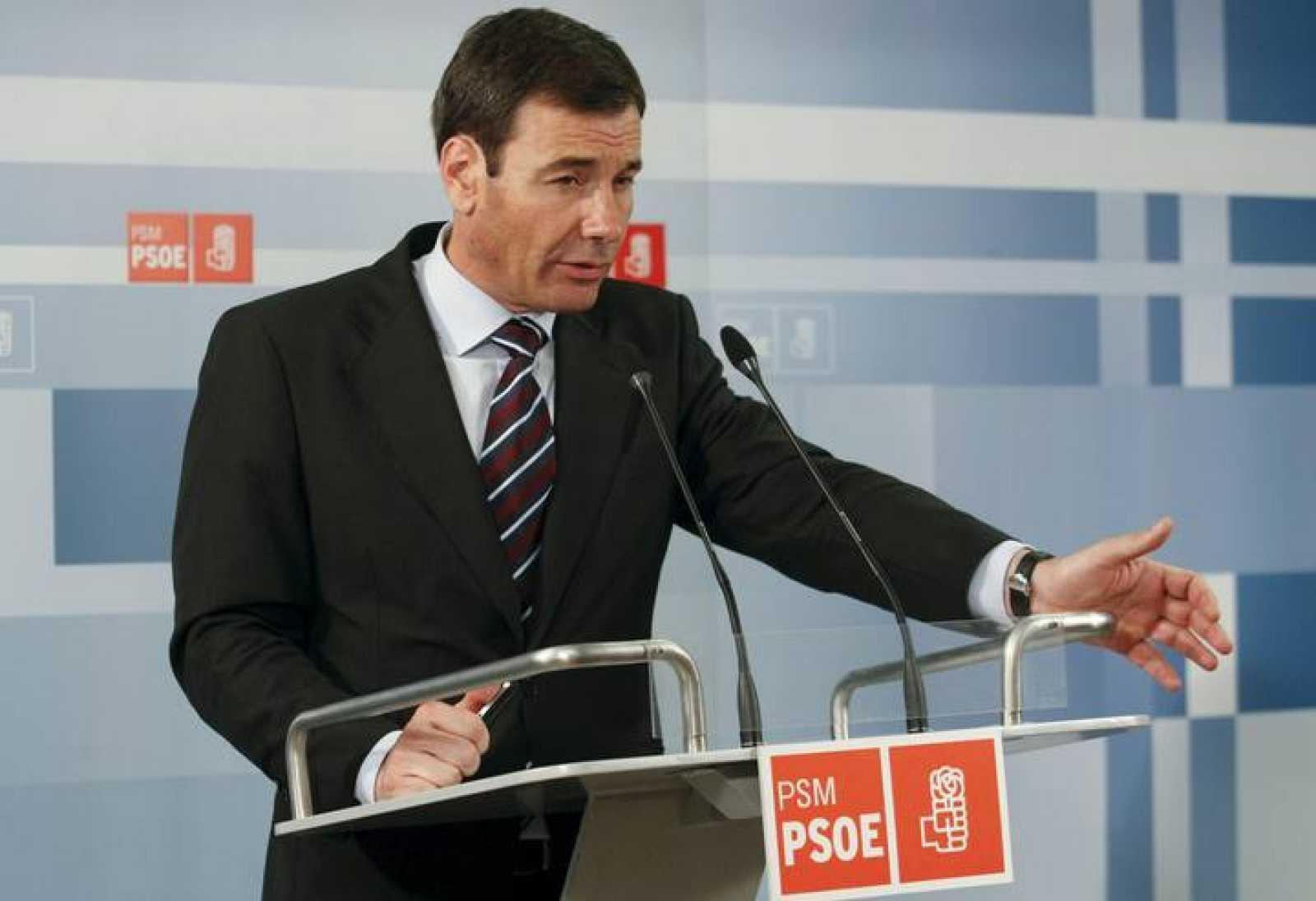 Tomás Gómez, secretario general del PSM-PSOE