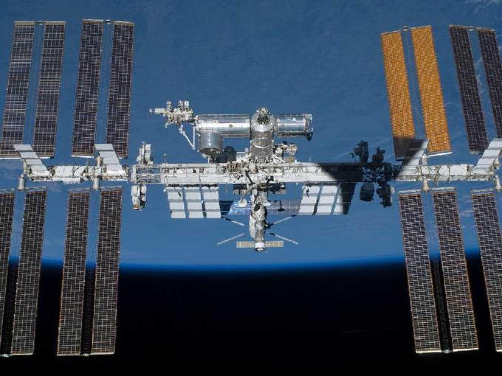 La ISS terminada tras la misión STS-134