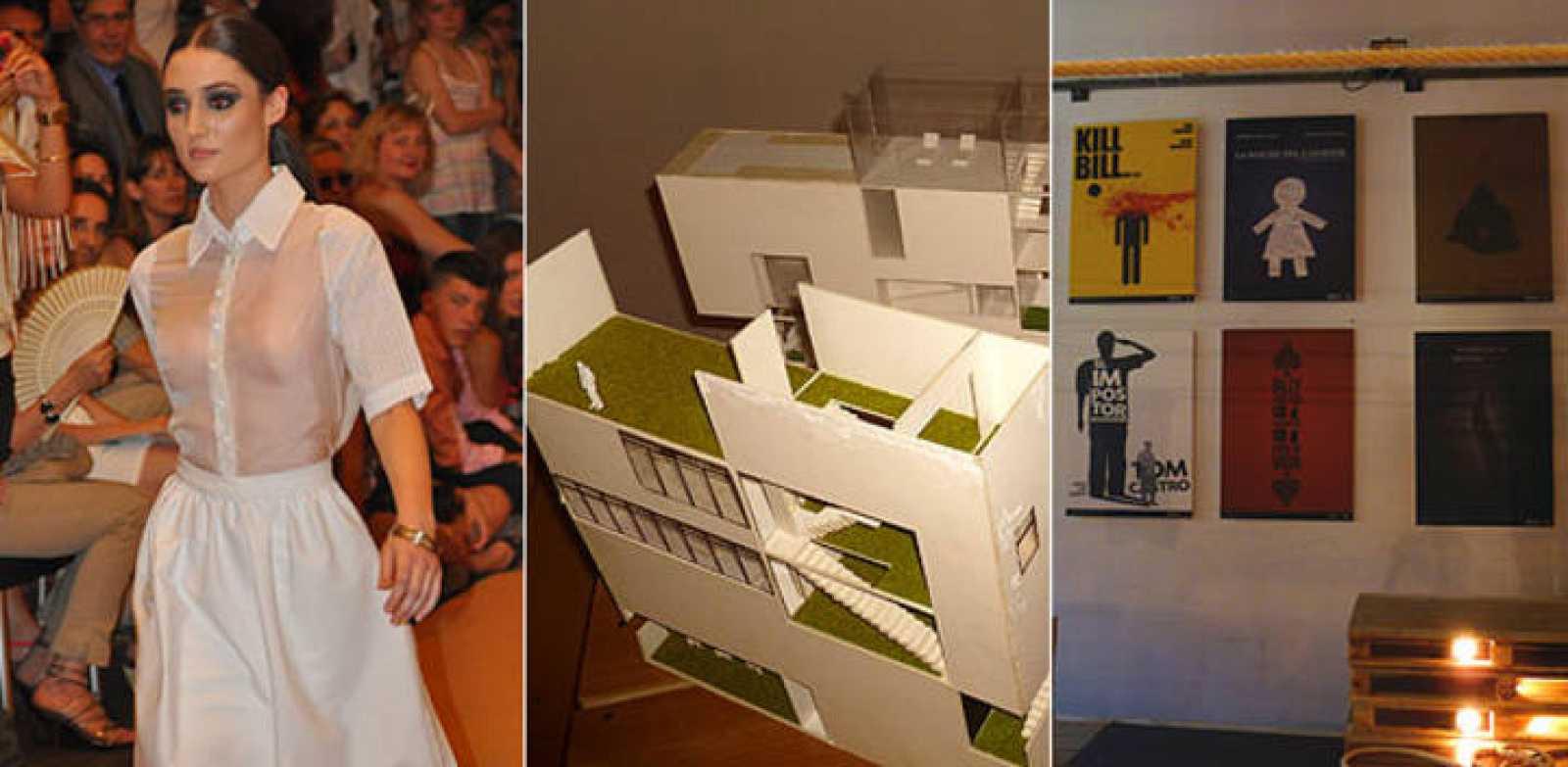 La exposición 'Raíces del diseño español' combina moda, Diseño Multimedia y Gráfico, Diseño de interiores, y de Videojuegos
