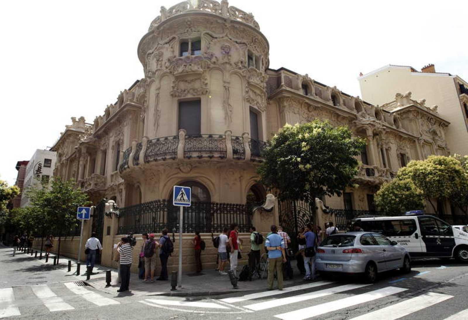 La Sede en Madrid de la Sociedad General de Autores (SGAE)