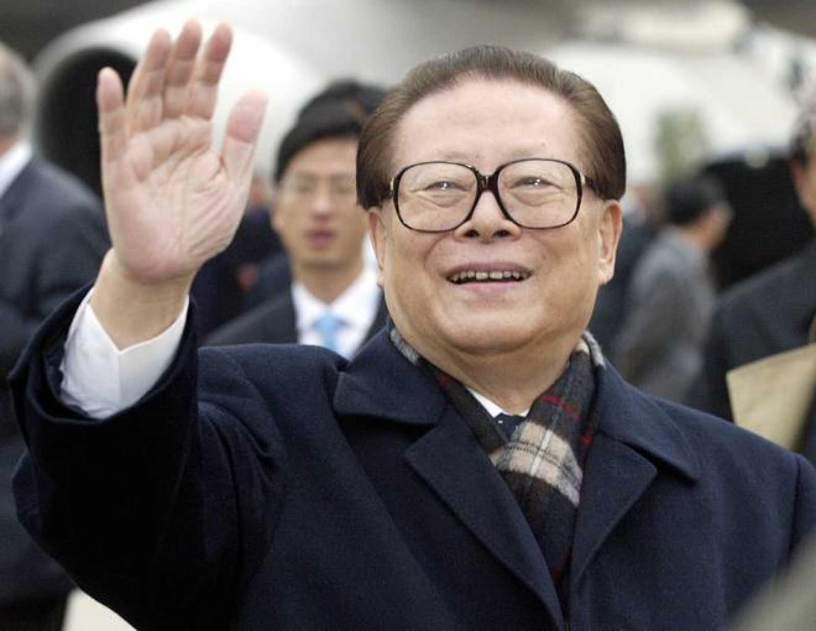 Imagen de archivo del expresidente chino Jiang Zemin