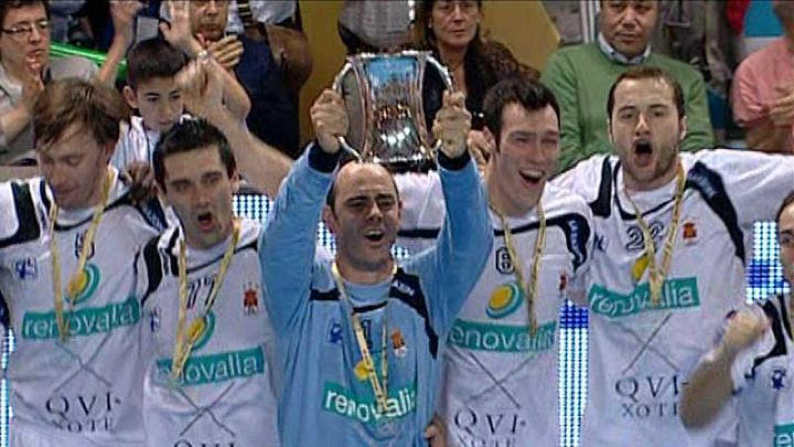Los jugadores del antiguo BM Ciudad Real