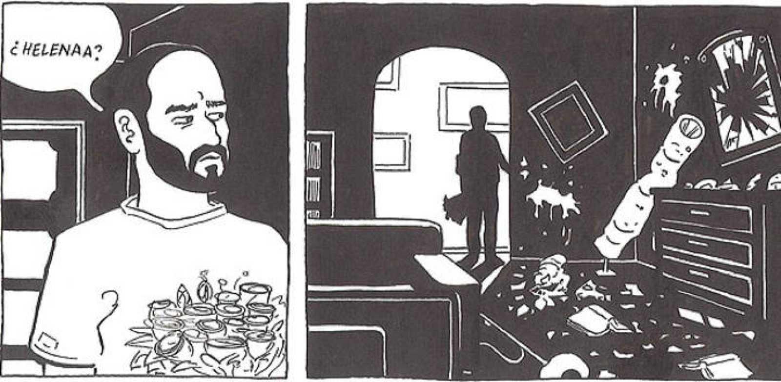 Viñetas de 'Sin título', de Rayco Pulido