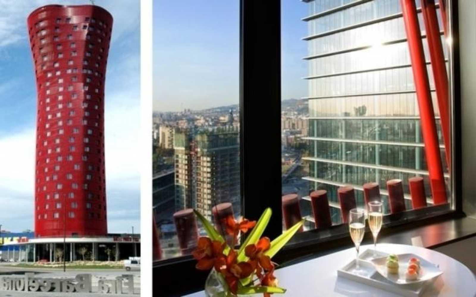 El Hotel Porta Fira de Barcelona es obra del arquitecto japonés Toyo Ito y del estudio b720 Arquitectos