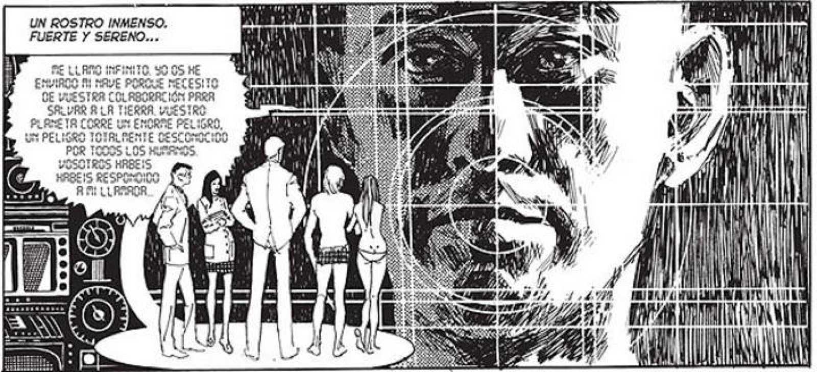 Viñeta de '5 por Infinito', de Esteban Maroto