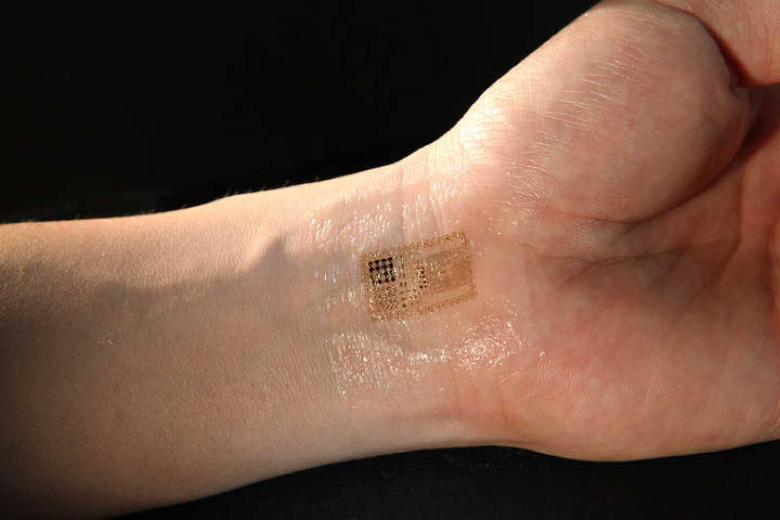 Un tatuaje que monitoriza las constantes vitales