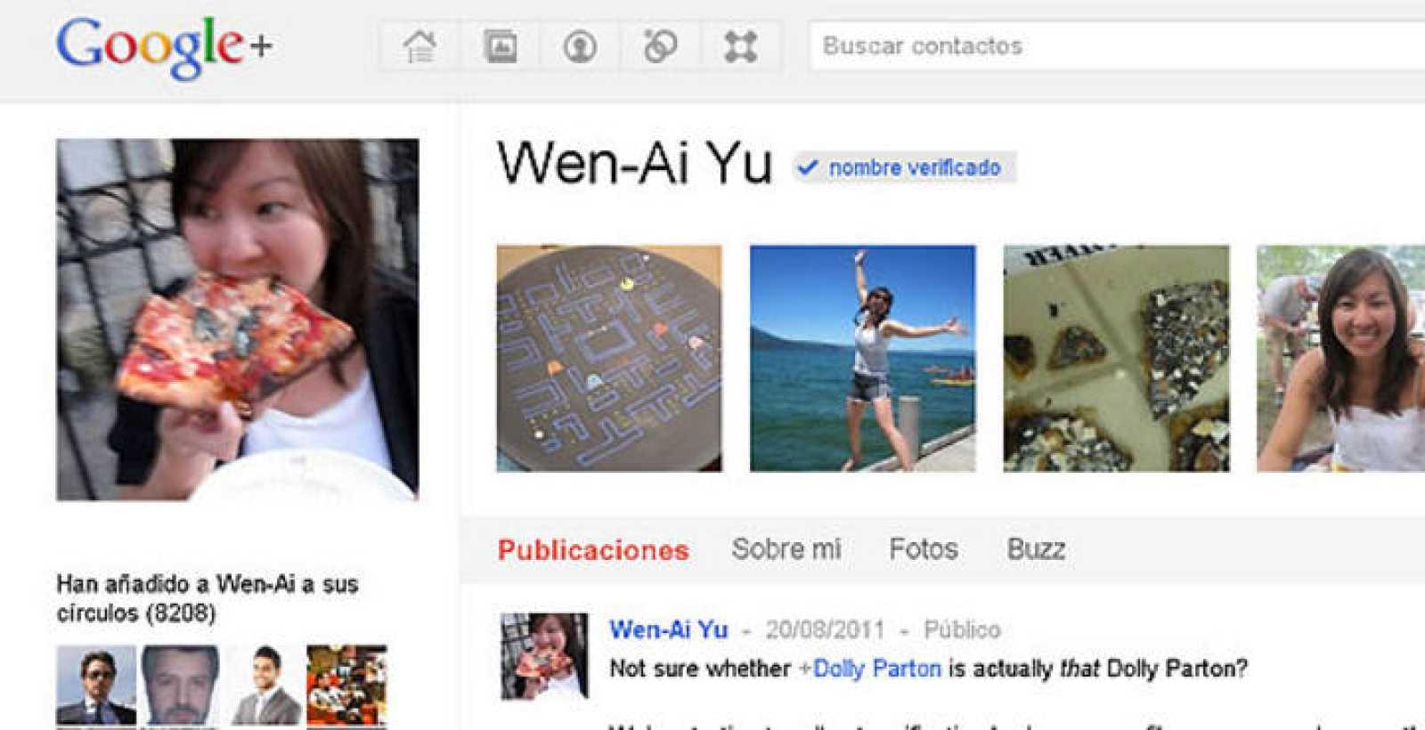 Google+ verifica la identidad de los personajes famosos