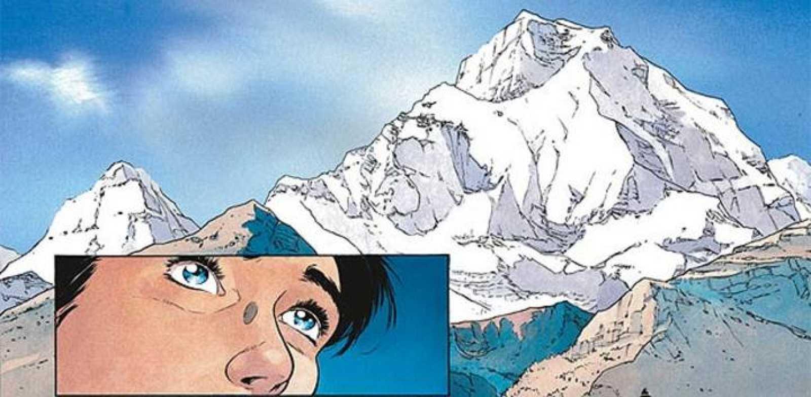 Viñetas de 'Nèvè', de Dieter y Lepage