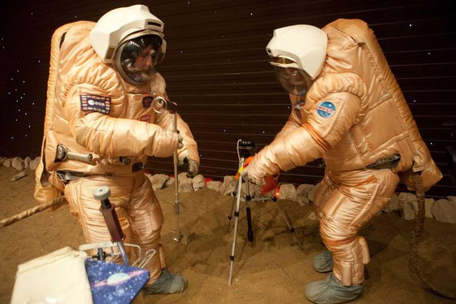 Astronautas agricultores para viajar a Marte