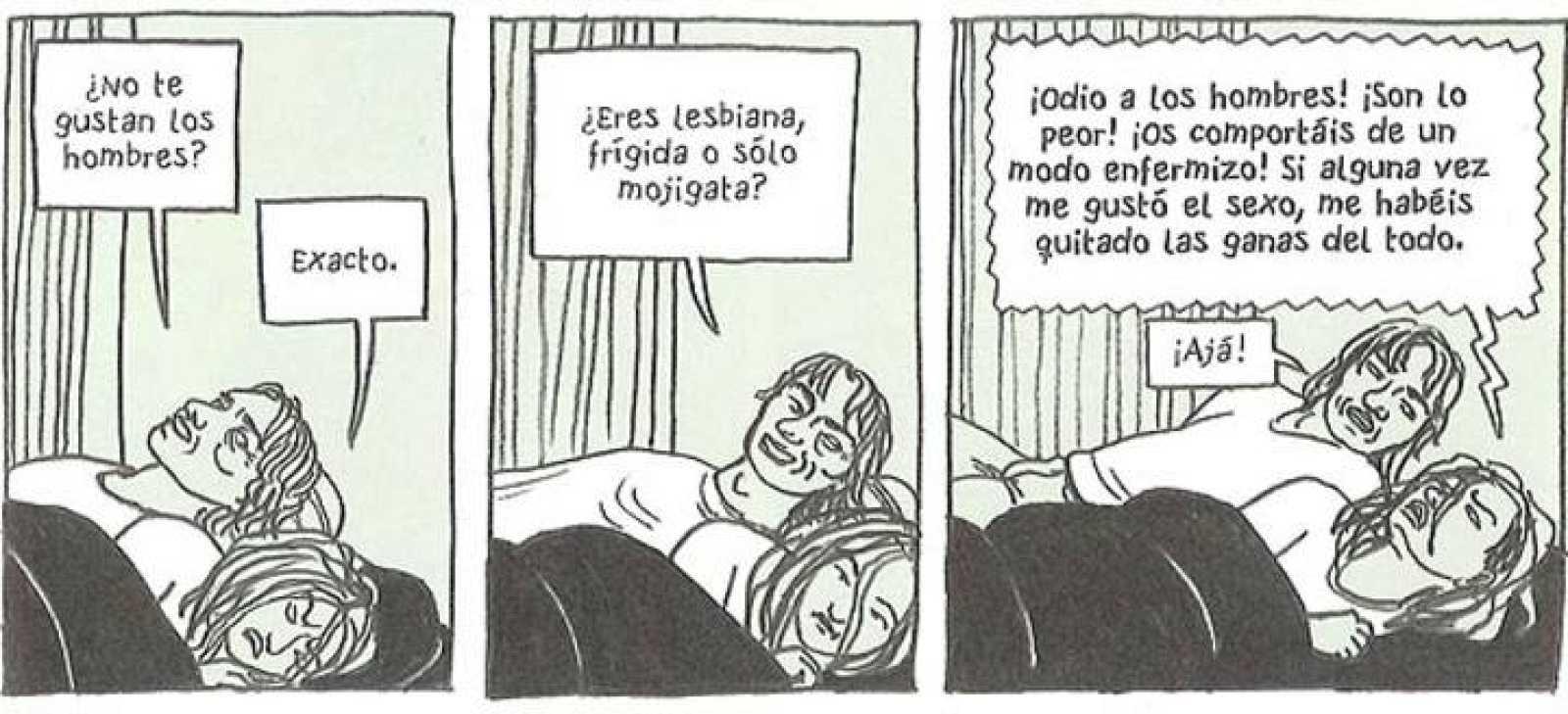 Viñetas de 'Hoy es el último día del resto de tu vida', de Ulli Lust