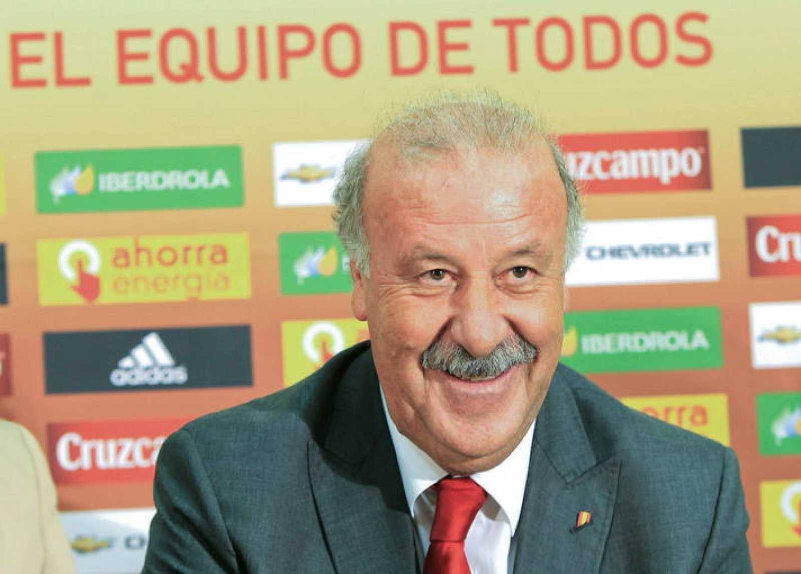 El seleccionador nacional, Vicente del Bosque, en una imagen de archivo.