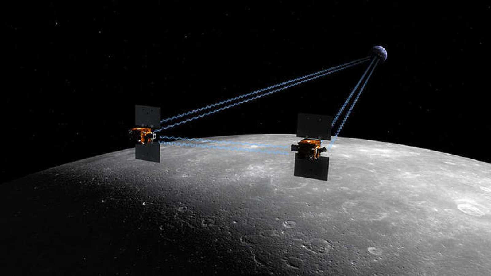 La misión GRAIL de la NASA, lista para mirarle las tripas a la Luna