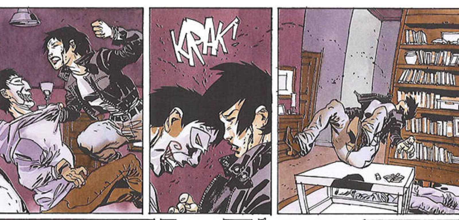 Viñetas de 'Dolls Killer', de Nicolas Pona y Sergio Bleda