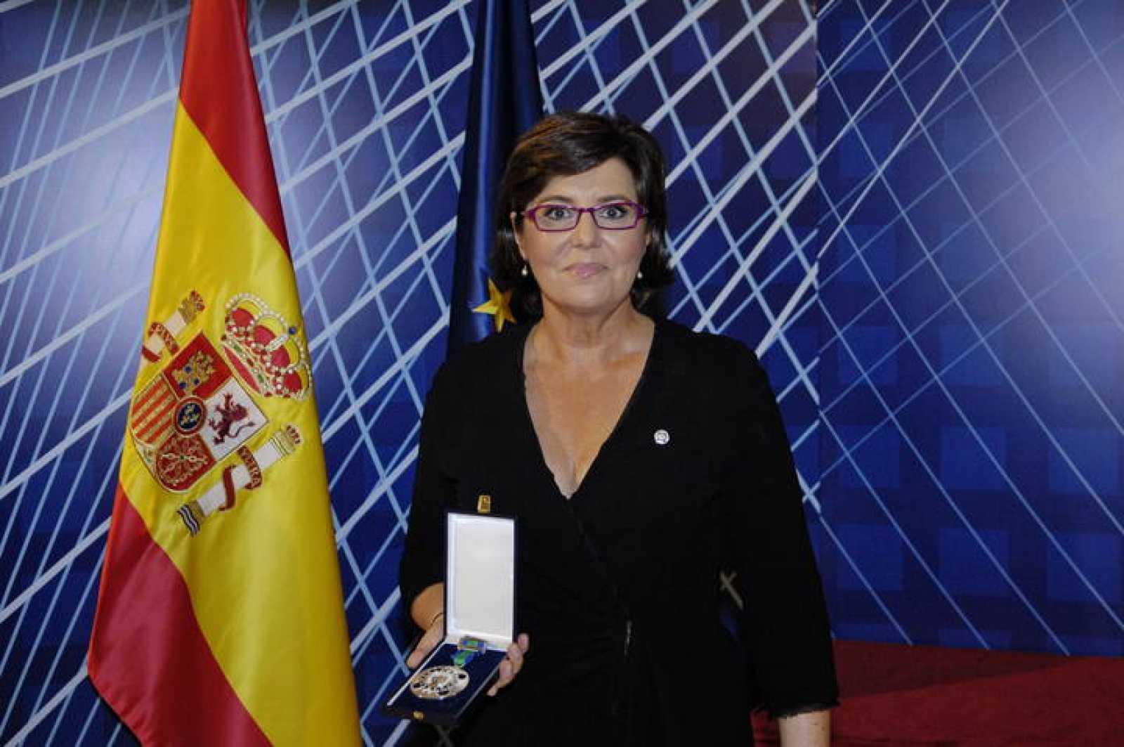 María Escario, presentadora de Deportes del Telediario de Fin de Semana