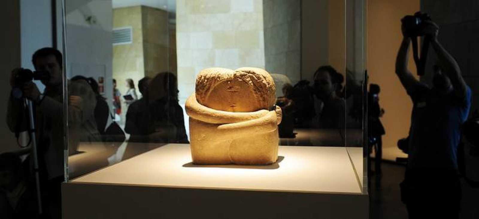 Exposición 'Brancusi-Serra' en el Guggenheim de Bilbao