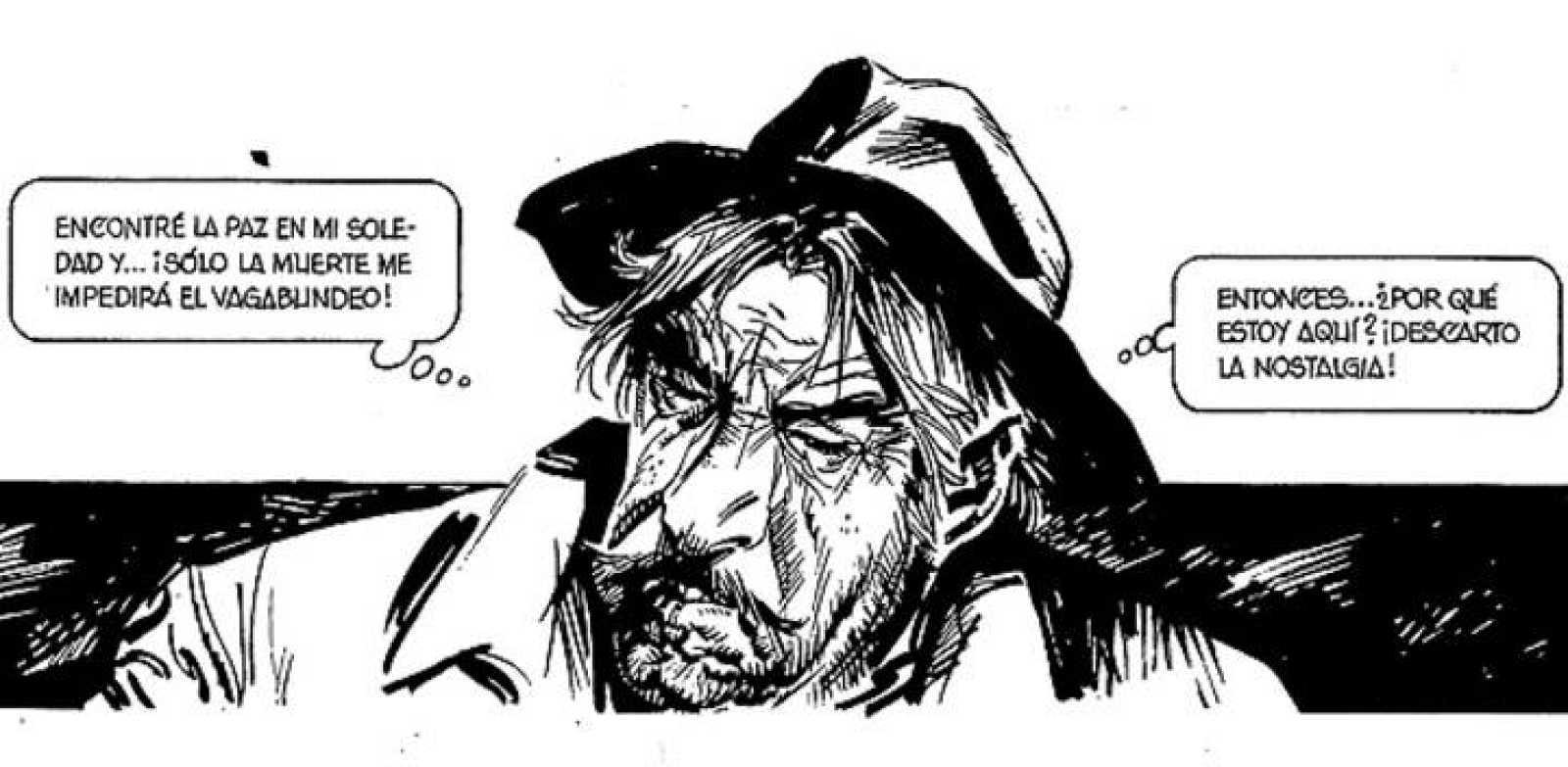 Viñeta de 'Robny el vagabundo', de Joan Boix