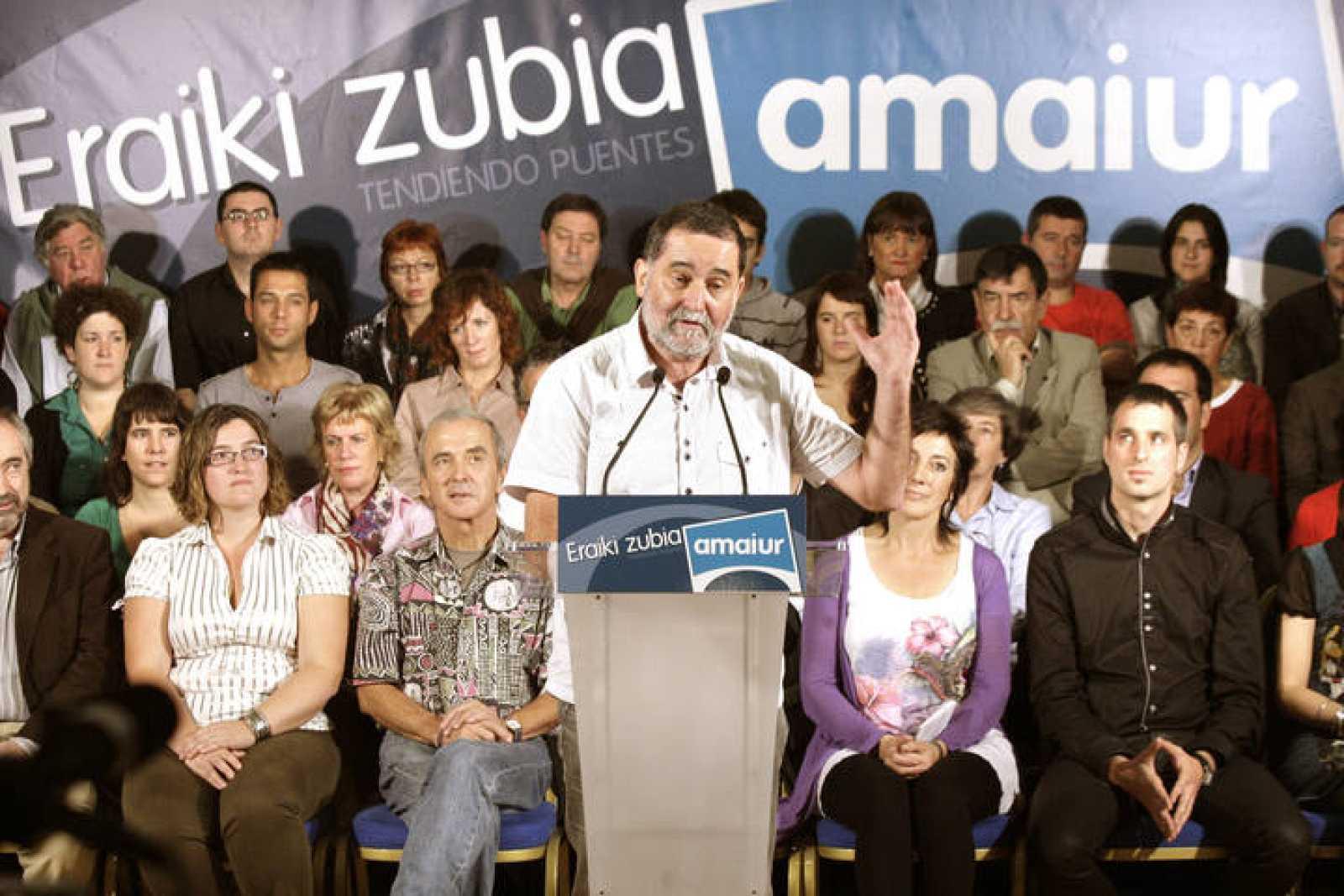 CANDIDATOS DE LA IZQUIERDA ABERTZALE LIDERAN LAS LISTAS DE AMAIUR AL CONGRESO
