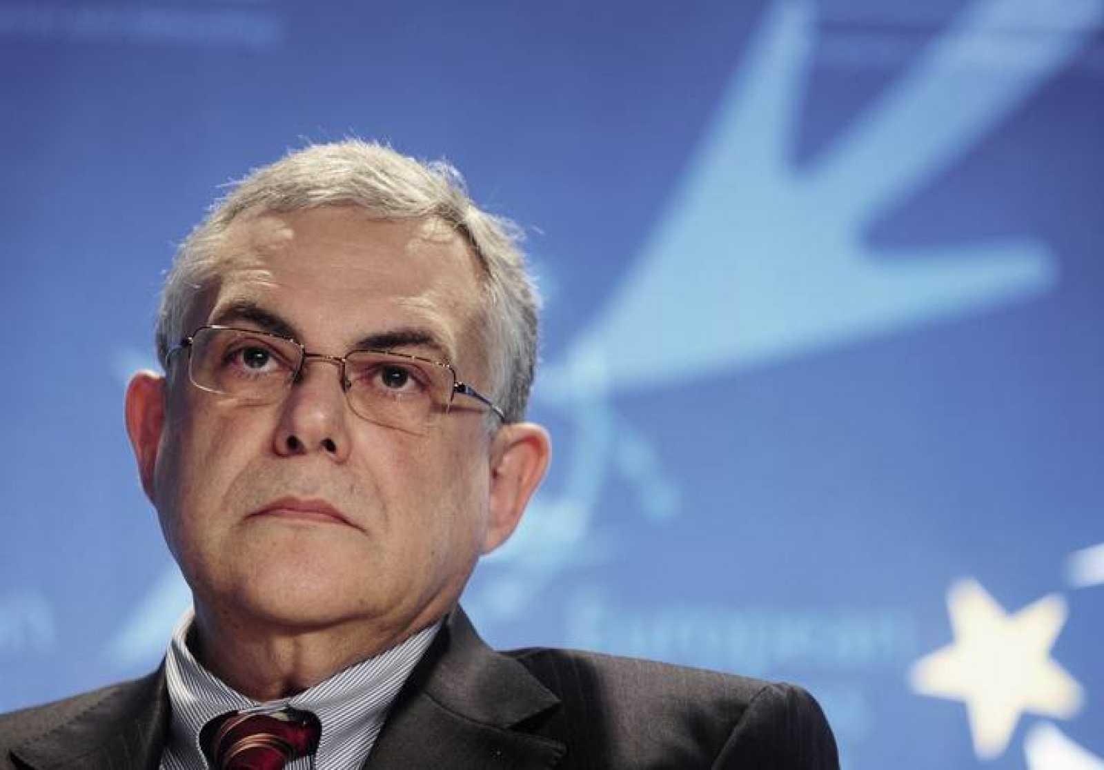 Lucas Papademos, nuevo primer ministro de Grecia, en una imagen de archivo