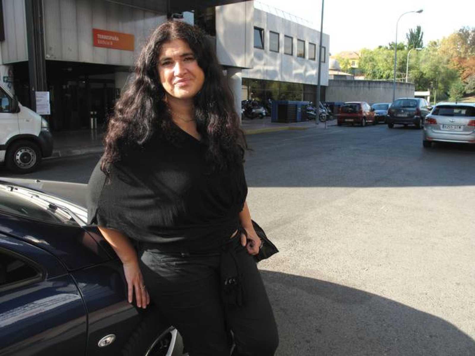 Lucía Etxebarria, tras el encuentro digital en RTVE.es
