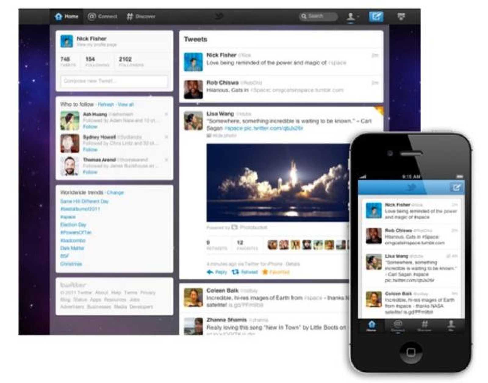 La nueva versión irá implantándose de forma escalonada en los perfiles de usuario.
