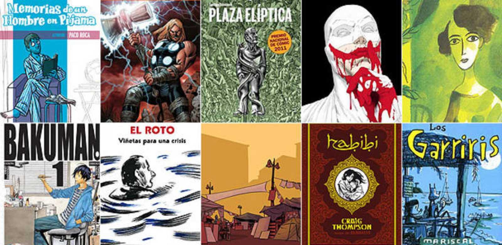 ¿Los diez cómics de 2011?